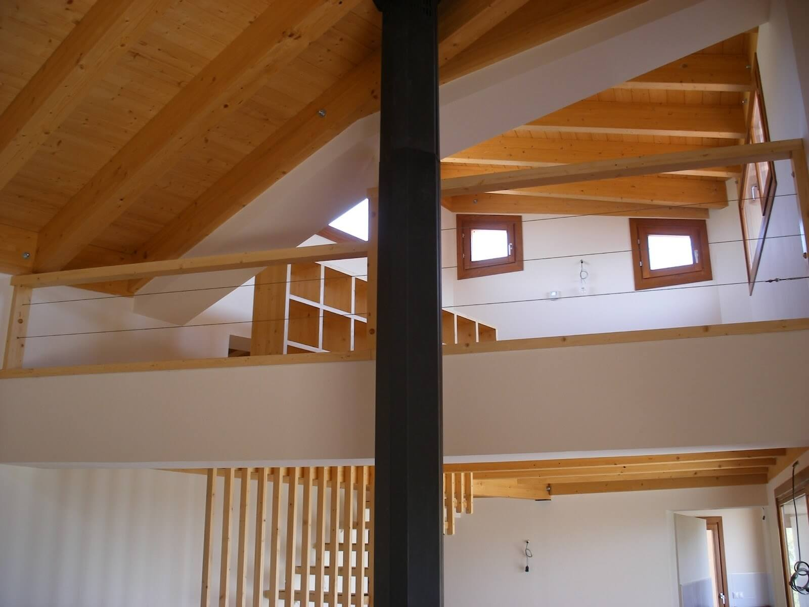 vivienda madera huesca
