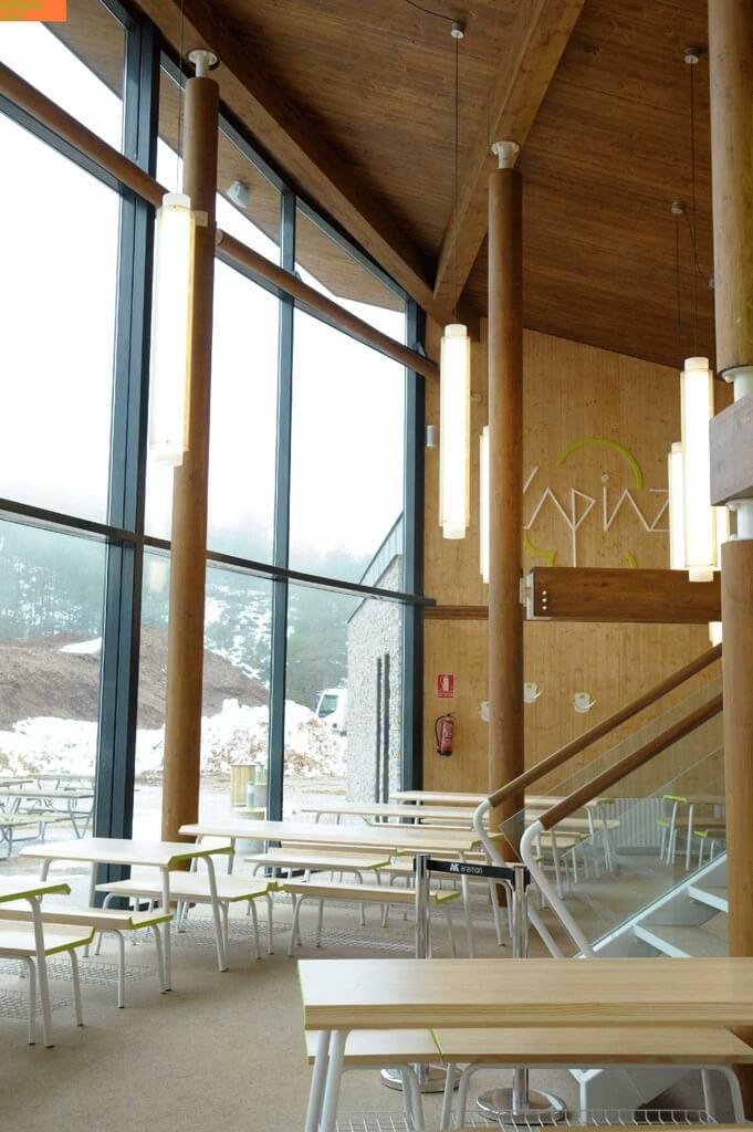 Lapiaz Javalambre estructura de madera