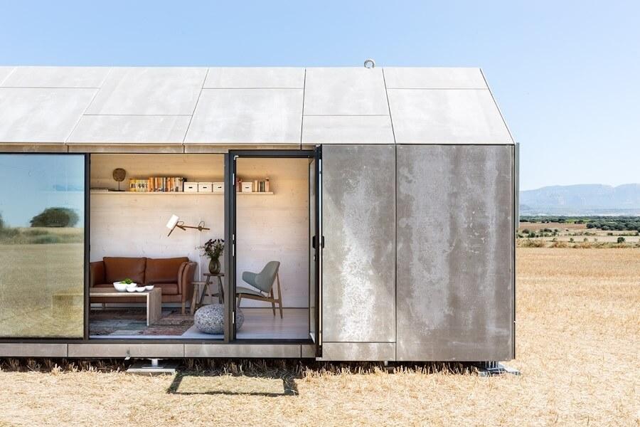casa transportable instalada