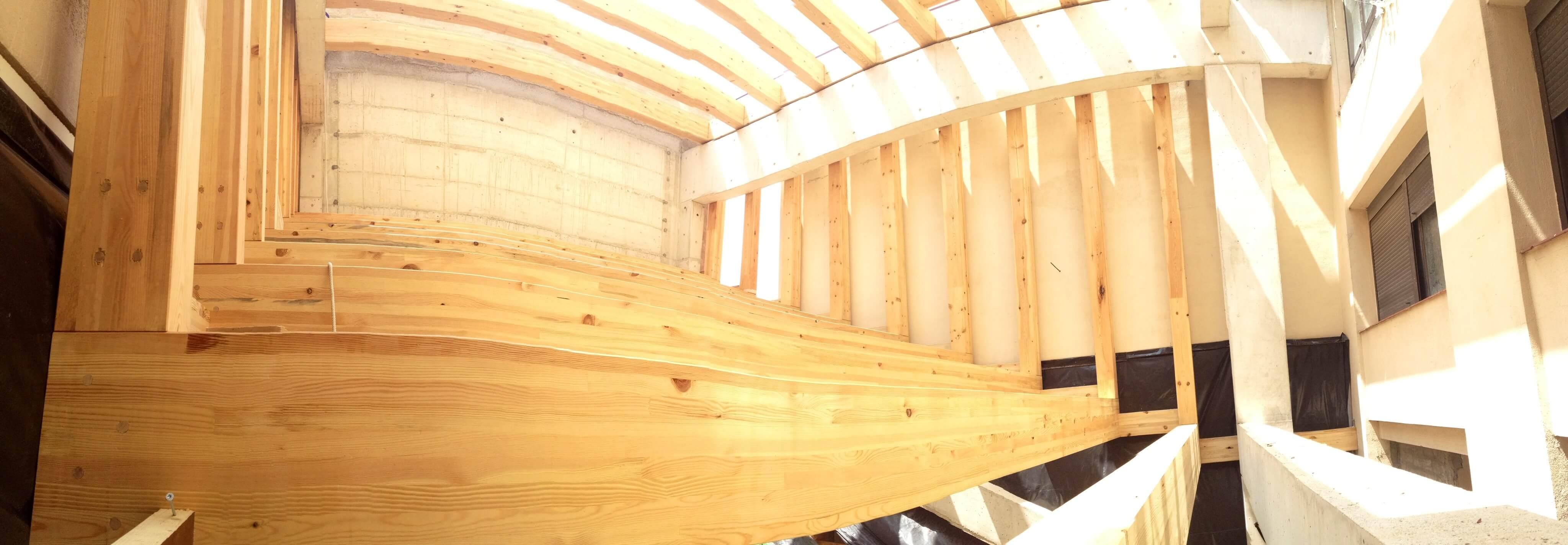 capilla de madera