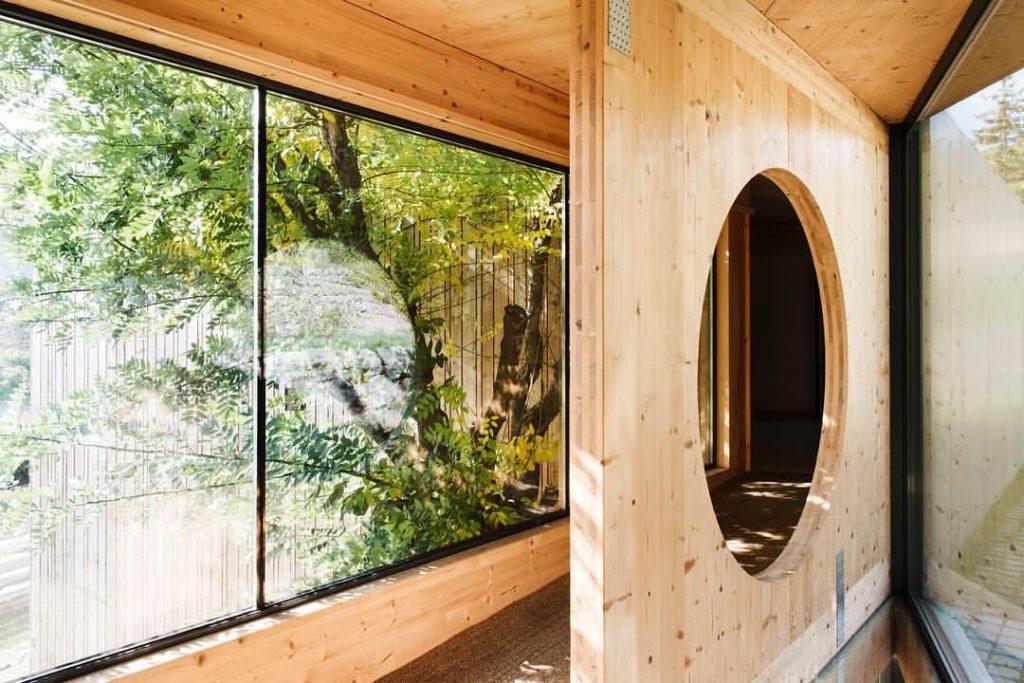Estructura madera Hotel Terra Bonansa