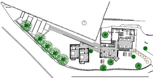 Plano de Hotel Ecológico